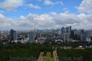 Jakarta is big, really big